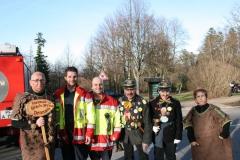 Zapfa, Büttel und die Feuerwehr